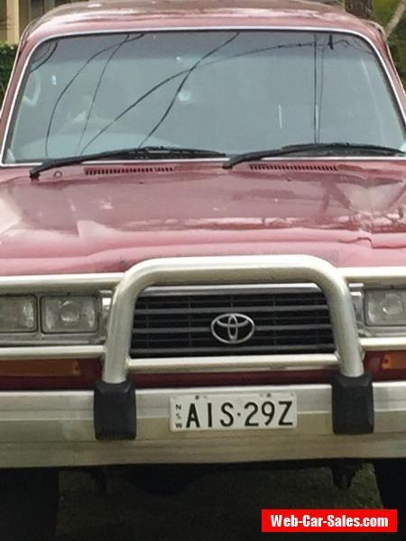 TOYOTA LANDCRUISER 1995 80 SERIES AUTO  #toyota #forsale #australia