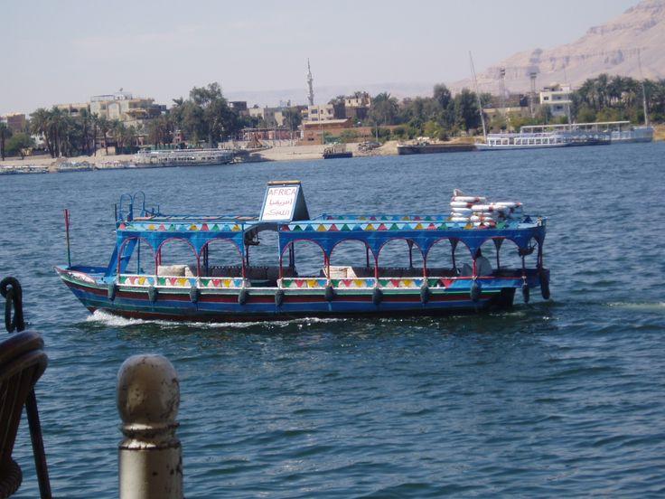 Luxor Ägypten - kleine Rundfahrt auf dem Nil