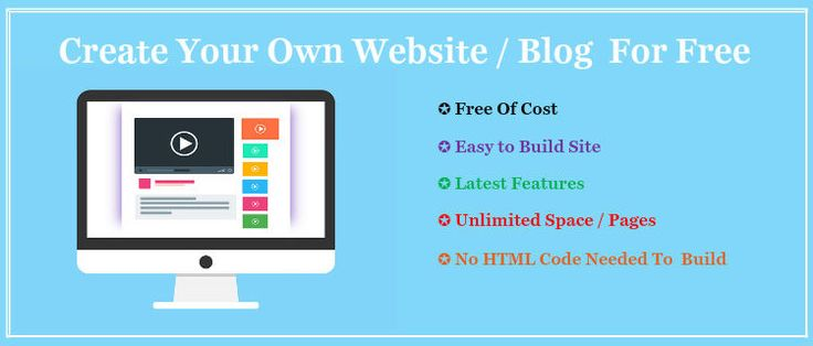 http://www.makemoneyonlinea2z.com/create-your-own-website/ Create Your Own Website For Free NO HTML Code Needed,Make Website for free is most preferable choice. when we are new in the website or blogs world. Best way to express your work all over the world for free. its also use for learn how to create perfect website or blog.