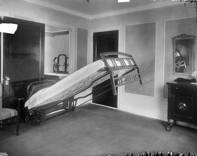 First Murphy Bed Design   Old Murphy Bed. Click Here To Read The Murphy Bed Amazing Design