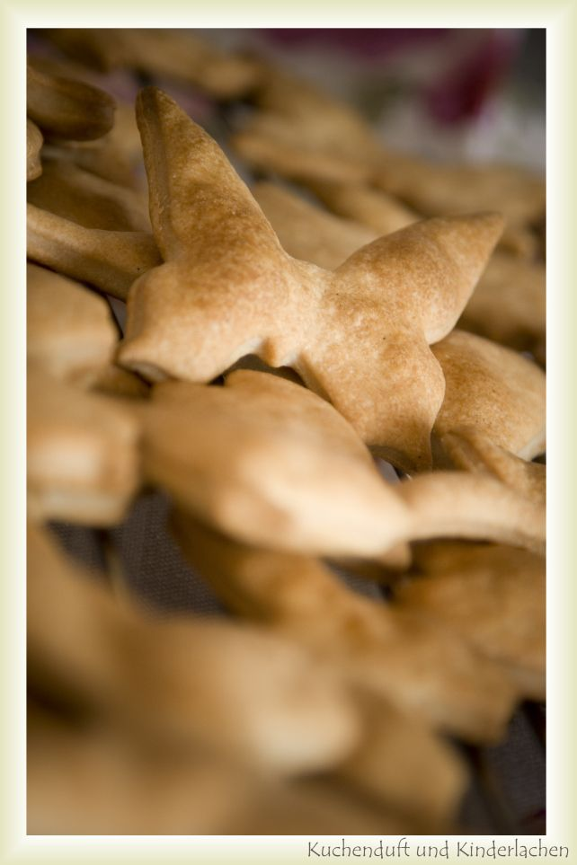 Dinkel-Vanille-Kekse ohne Zucker