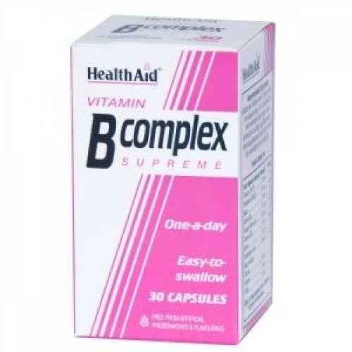 βοηθά στην διατήρηση της υγείας του νευρικού  συστήματος το σύμπλεγμα βιταμινών Β..