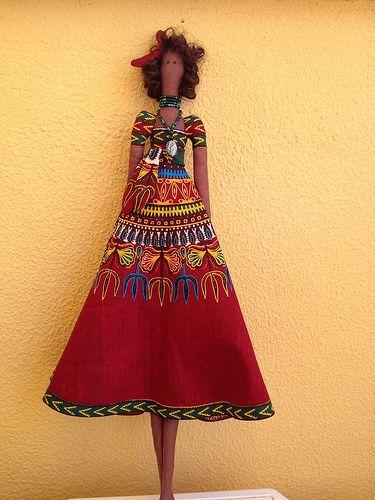 Tilda africana, realizada para mi hermana.