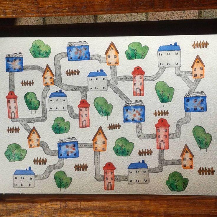 Imagaine the joys of illustrating a childrens book... @artfullymaya