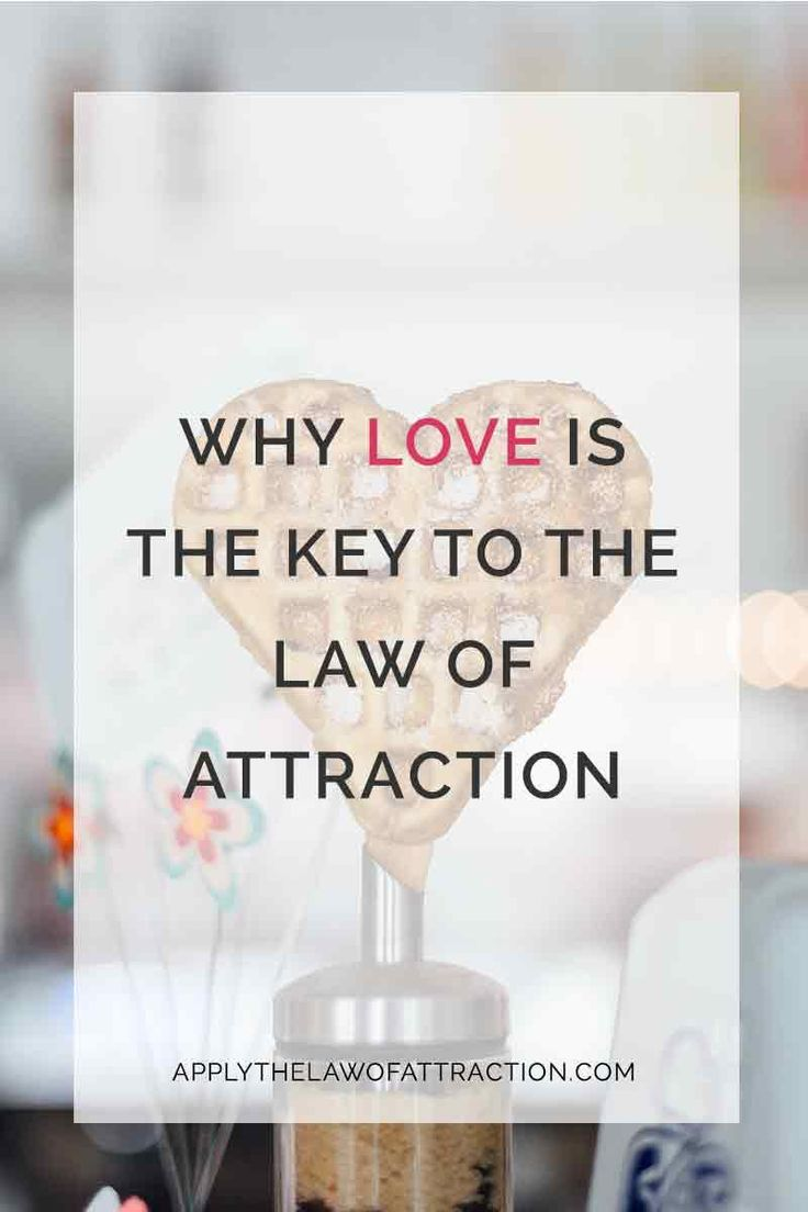 Law of Attraction and Love - The Secret to Success