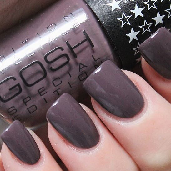 We can't get enough of our Mysterious Mauve Nail Lacquer!  Repost from beautynailsfun.nl #NailNovember #GOSHCOPENHAGEN #NailLacquer
