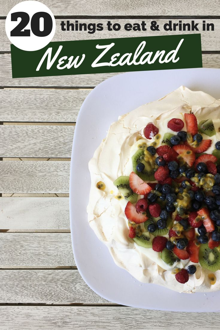20 Things to Eat & Drink in New Zealand!