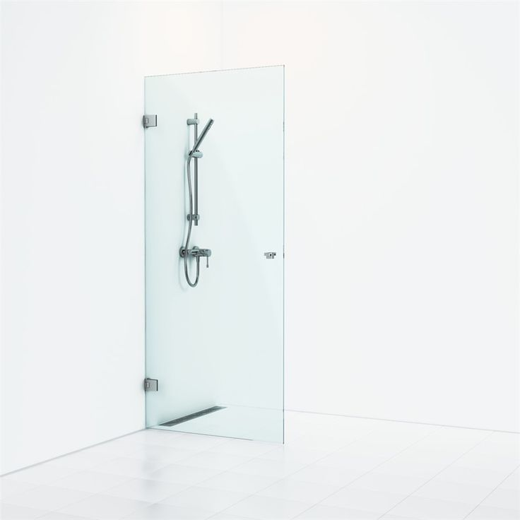 Duschdörr Svedbergs 180º Nisch Enkel Kristallglas - Duschdörrar - Dusch