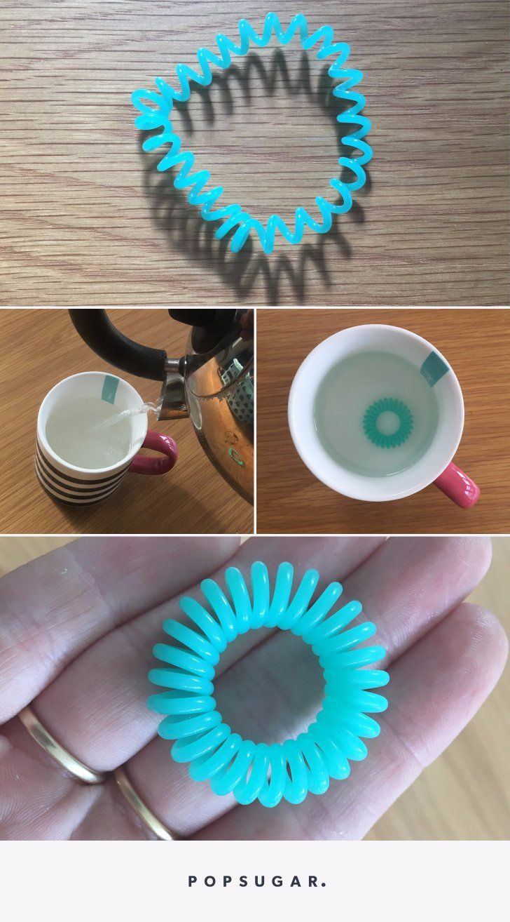 Stretched Out Your Spiral Hair Ties  Try This Brilliant Hack  hair   hairstyles  hairties  beauty  beautytips  hacks 80bd762369a