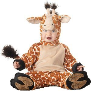 #Halloween : Lil' Giraffe Elite Collection Infant/Toddler Costume - 12-18 Months - Kid's Costumes #HalloweenCostume #2013