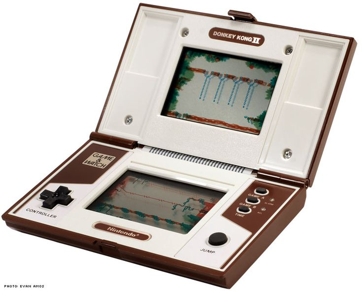 Donkey Kong II. I spent the majority of a summer vacation playing this simple LCD game as a kid. I also had the first Donkey Kong hand-held.