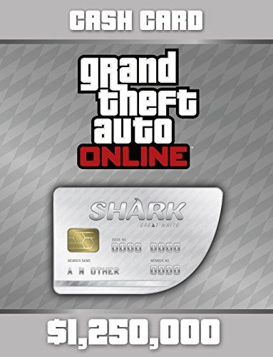 Grand Theft Auto V:  Great White Shark Cash Card - Ps4 [Digital Code], 2015 Amazon Top Rated Currency Cards #DigitalVideoGames