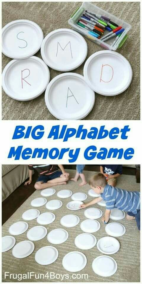 Alphabet memory- can do upper and lower case