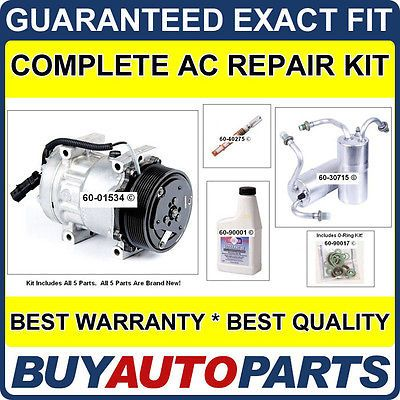 cool NEW AC COMPRESSOR & CLUTCH WITH COMPLETE AC REPAIR KIT FOR DODGE RAM TRUCKS 5.9 - For Sale View more at http://shipperscentral.com/wp/product/new-ac-compressor-clutch-with-complete-ac-repair-kit-for-dodge-ram-trucks-5-9-for-sale/