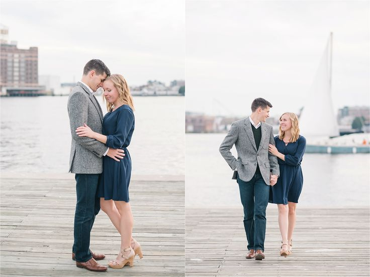 Fells Point Baltimore Engagement | Ali and Josh | Amanda Adams Photography