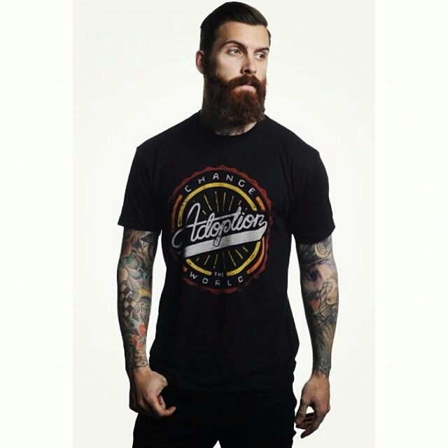 <3love<3 this very dark shade of red !! beard and mustache beards bearded man men mens' style tattoos tattooed ginger #beardsforever