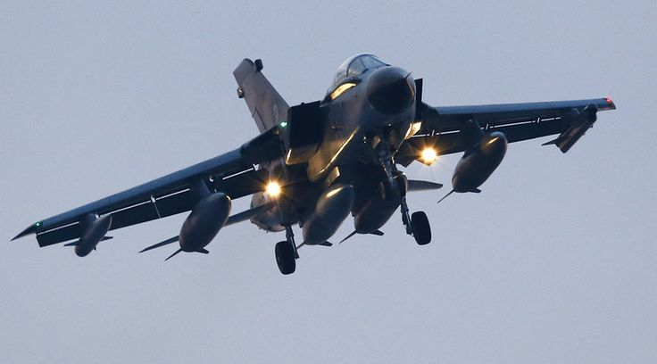 German Tornado jets can't fly night missions in Syria due to cockpit lighting problem – Bild  http://pronewsonline.com  A German air force Tornado jet approaches to land at an airbase in Incirlik, Turkey. ©Umit Bektas