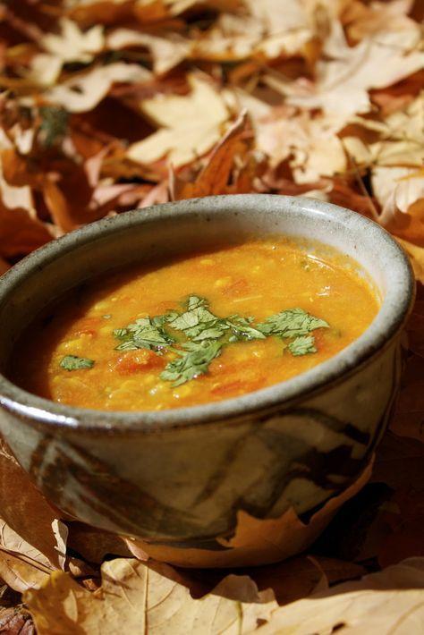 Street Food: Moroccan Harira (Morocco's national soup)