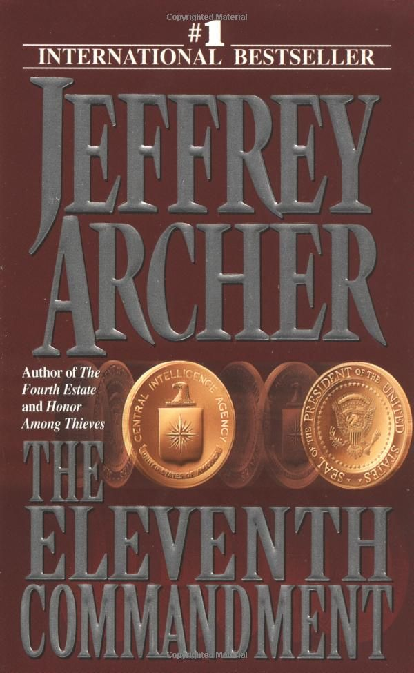 3321 best book reading lists images on pinterest reading lists the eleventh commandment another very well written espionage thriller by jeffrey archer one of my favorite authors 4 out of 5 stars fandeluxe Gallery