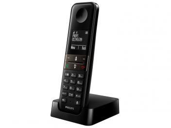 Telefone Sem Fio Philips com ident. de Chamadas - D4501B/BR - Viva-Voz