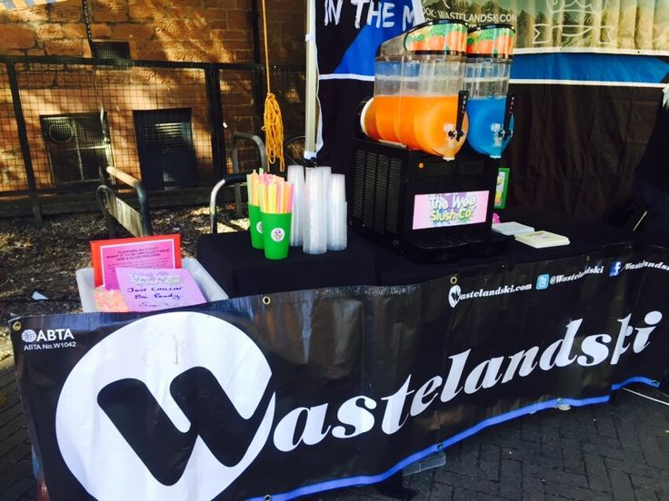 We had a great time at University of Strathclyde Freshers' Fayre last week with Wasteland Ski! Hope everyone that signed up to the Snowsports Club enjoyed the Iron Brew and Blue Raspberry ‪#‎slush‬ #drinks - we'll cross our fingers no one breaks a leg on the #slopes when you all go on holiday! / ‪#‎TWSC‬ ‪#theweeslushcompany #weeslushco #‎students‬ #freshers ‪#‎unilife‬ ‪#‎skiiing‬ ‪#‎snowboarding‬ ‪#‎winterwonderland‬