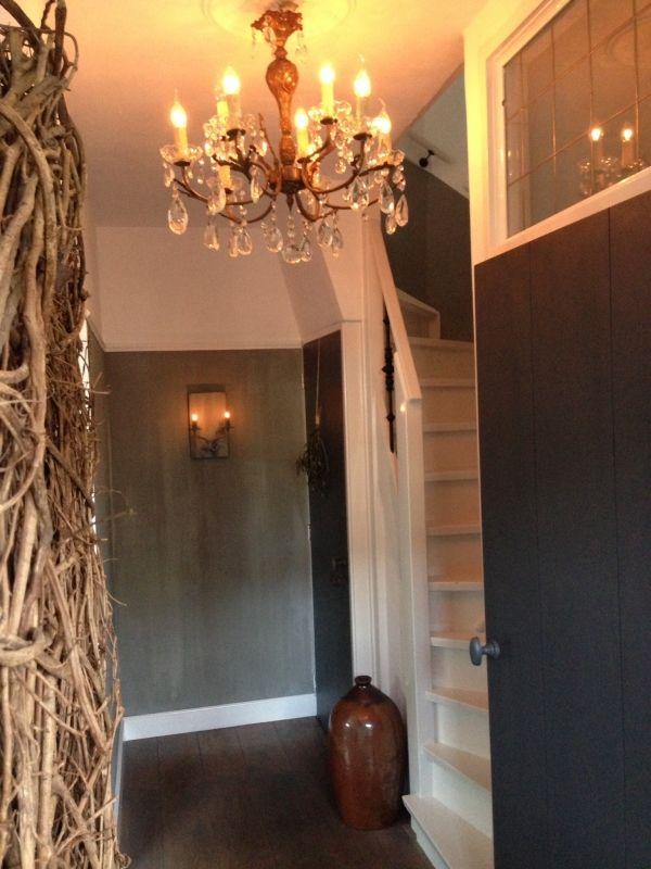 Mooie landelijke hal hal pinterest entrees and interieur for Landelijk interieur winkels
