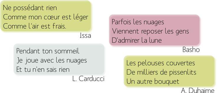 Français IES Santa BárbaraNiveau A1-A2: Les saisons en haiku