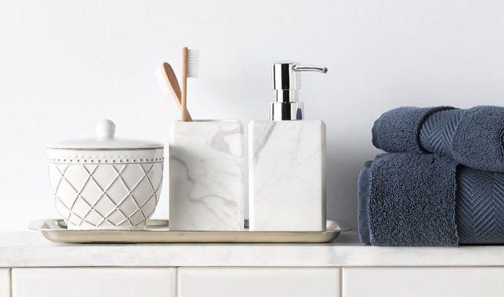 Badezimmer Dekoration Ideen anspruchsvoll Seifenspender / / ein einfachen weißen Marmor Seifenspender Klasse verleiht Ihrem Zähler und waschen Ihre Hände fühlen Sie sich wie ein Luxus macht.