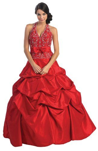 Ball Gown Formal Prom Wedding Dress #2584