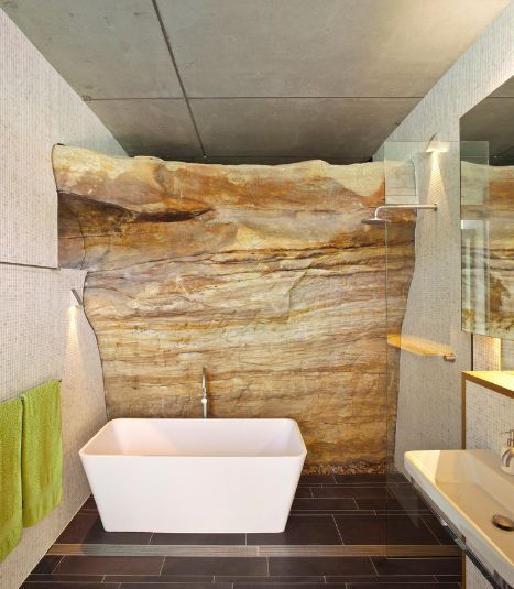 Wow, how great would it be to be able to incorporate such a beautiful natural feature into your home.