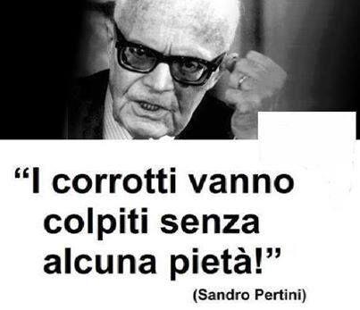 Una frase del presidente Sandro Pertini. wrap1
