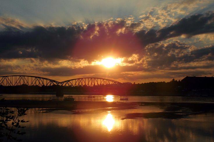 #zachód słońca ...