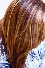 blonde red and brown highlights - Bing images
