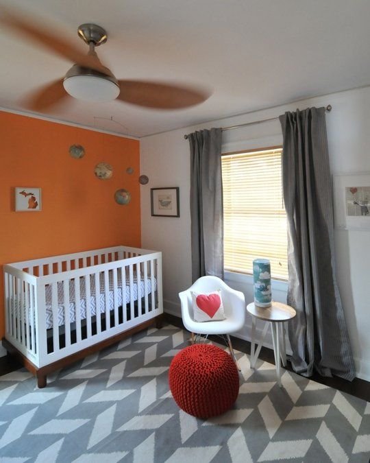 179 Best Images About Orange Baby Rooms On Pinterest
