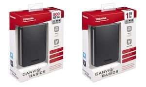Groupon - Hard disk Toshiba Canvio Basics USB 3.0. Varie capacità disponibili da 45,90 € a 56,90 €