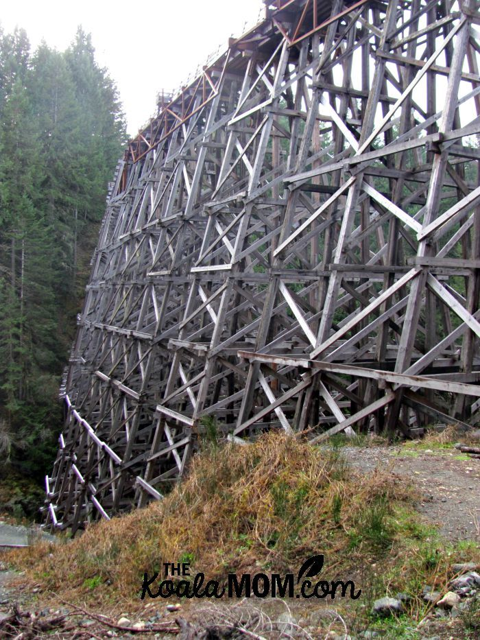 The Kinsol Trestle near Duncan, BC, on Vancouver Island offers an easy, scenic afternoon hike and picnic location.