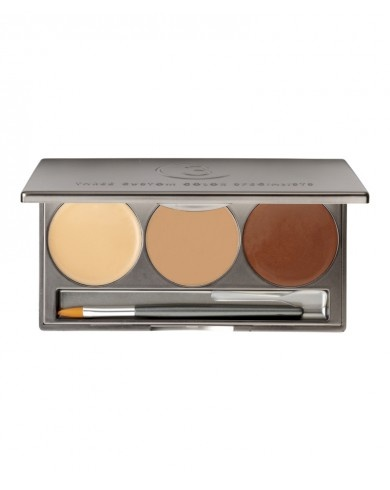 Crème Concealer Trio by 3 Custom Color, perfect for dark skin tones #cultbeautywishlist