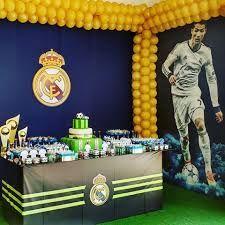 Resultado de imagem para real madrid festa infantil #futbolrealmadrid