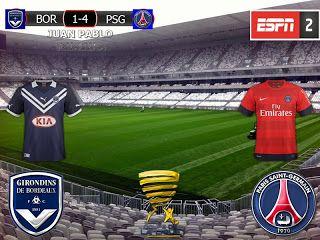 Coupe de la Ligue 2016/17 Semifinal: Girondins Bordeaux 1-4 Paris Saint Germain