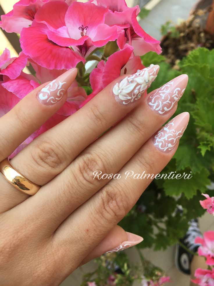 Almond shape - acrylic system By Rosa Palmentieri (FB: Rosa Palmentieri Instagram: @rosapalm Twitter: @rosapalment YouTube: Rosa PALM) #extremenails #lovenails #nails #rosapalmentieri #longnails #acrynails #unghie #nailsart #nailspassion #bridal #bridalnails #fashionails #style #nailsoftheday #beautiful #acrylicnails #stylish #styles #nailart #art #photoftheday #nailaddicted #naildesign #bestnails #unghie #stiletto #modernstiletto #frenchnails #dragqueen #passioneunghie