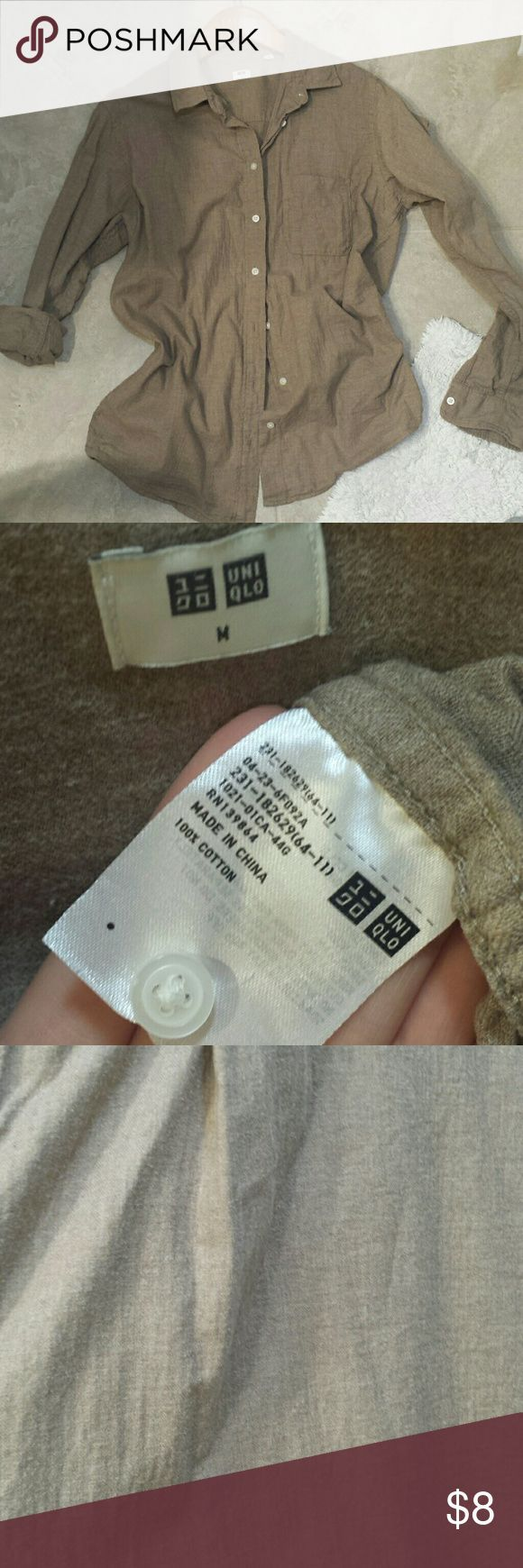 cool Tendance salopette 2017 - Uniqlo beige dress shirt Has some bobbing due to wear but the material overall i... Check more at https://listspirit.com/tendance-salopette-2017-uniqlo-beige-dress-shirt-has-some-bobbing-due-to-wear-but-the-material-overall-i/