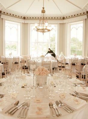 Wedding Reception At Nonsuch Mansion Capacity Up To 135 Guests Surrey Venue