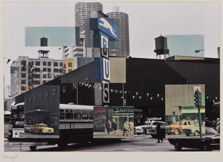 Kenneth Josephson, Postcard Visit: Chicago U.S.A., 1969