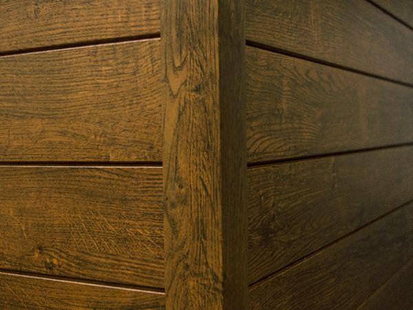 Antique Oak Woodgrain Luxyclad Aluminum Siding Soffit Www Luxyclad Com Luxyclad Wall Systems Aluminum Siding Cladding