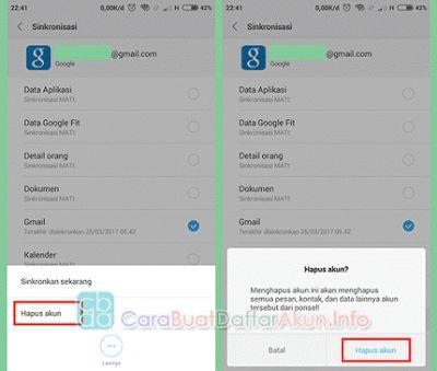 Cara Mengganti Akun GMAIL Lama Dengan Yang Baru di Android (HP-Tablet)