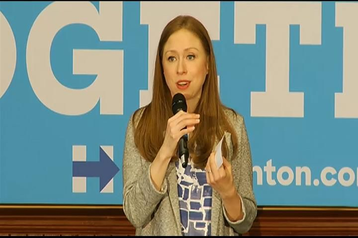 Chelsea Clinton Visits Traverse City Encouraging Michigan Voters - Northern Michigan's News Leader