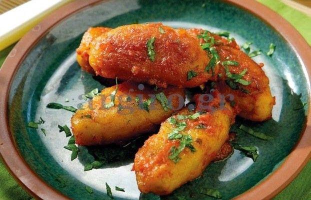 Συνταγή χορτοφαγική νηστίσιμη σαρακοστιανή - vegan vegetarian - Soutzoukakia-apo-revithi