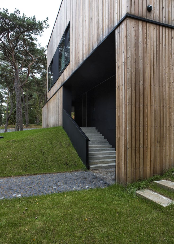 Shell House Close By The Baltic Sea By Ultra Architects