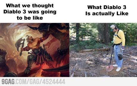 Diablo 3 true story...