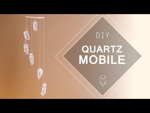 Quartz Crystal Mobile ♥ DIY - YouTube